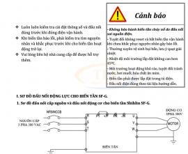 Hướng dẫn cài đặt biến tần shihlin bảng tiếng Việt