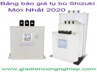 Bảng giá tụ bù Shizuki mới nhất 2020