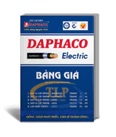 Bảng giá dây cáp điện Lion-Daphaco mới nhất 2019