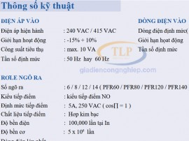Catalogue bộ điều khiển tụ bù Mikro 6 8 12 14 cấp Tiếng Việt