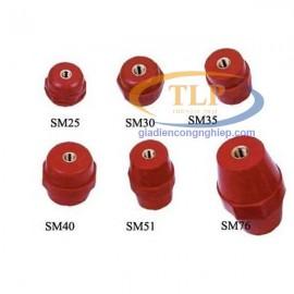 Phụ kiện tủ điện gối đỡ Busbar mã SM 30 SM 35 SM 51
