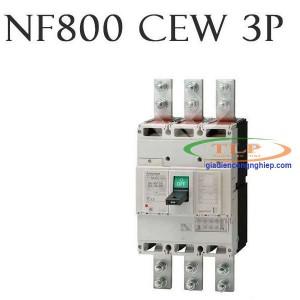 Thiết bị đóng cắt MCCB Mitsubishi NF800 CEW 3P