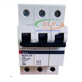 Thiết bị đóng cắt MCB MITSUBISHI BH-D10 3P 50A