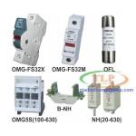 Phụ kiện tủ điện cầu chì Omega OMG-FS32X